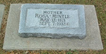 MINTLE, ROSA - Mills County, Iowa | ROSA MINTLE