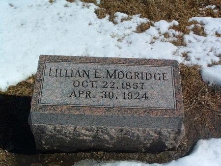 MOGRIDGE, LILLIAN E. - Mills County, Iowa | LILLIAN E. MOGRIDGE