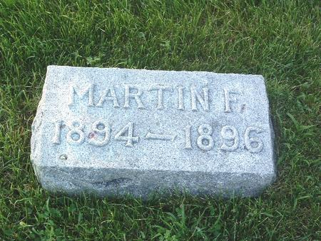 MOORE, MARTIN F. - Mills County, Iowa | MARTIN F. MOORE
