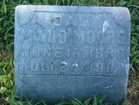 MOORE, MAUD - Mills County, Iowa | MAUD MOORE