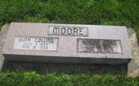 MOORE, HARRY JOHN - Mills County, Iowa   HARRY JOHN MOORE