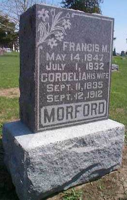 MORFORD, FRANCIS MARION - Mills County, Iowa | FRANCIS MARION MORFORD