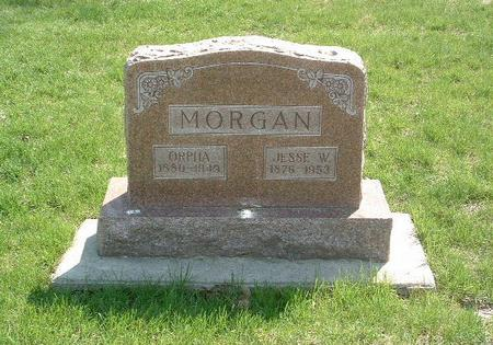 MORGAN, JESSE W. - Mills County, Iowa | JESSE W. MORGAN