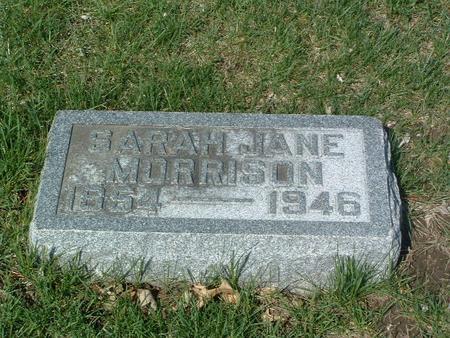 MORRISON, SARAH JANE - Mills County, Iowa | SARAH JANE MORRISON