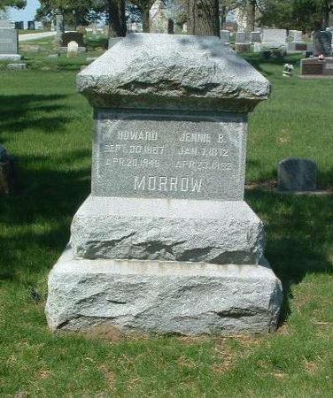 MORROW, JENNIE B. - Mills County, Iowa | JENNIE B. MORROW