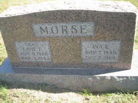 MORSE, INA E. - Mills County, Iowa | INA E. MORSE