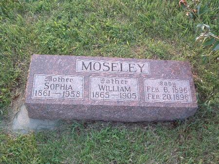 MOSELEY, WILLIAM - Mills County, Iowa | WILLIAM MOSELEY