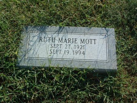 MOTT, RUTH MARIE - Mills County, Iowa | RUTH MARIE MOTT
