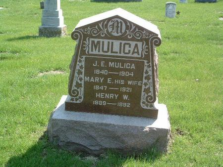 MULICA, MARY E. - Mills County, Iowa | MARY E. MULICA