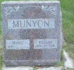 MUNYON, WILLIAM - Mills County, Iowa   WILLIAM MUNYON