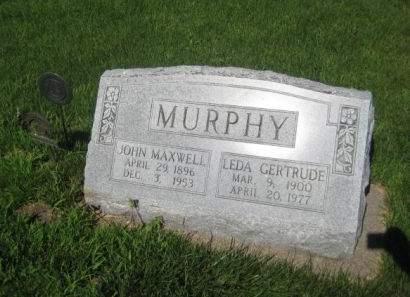 MURPHY, JOHN MAXWELL - Mills County, Iowa | JOHN MAXWELL MURPHY