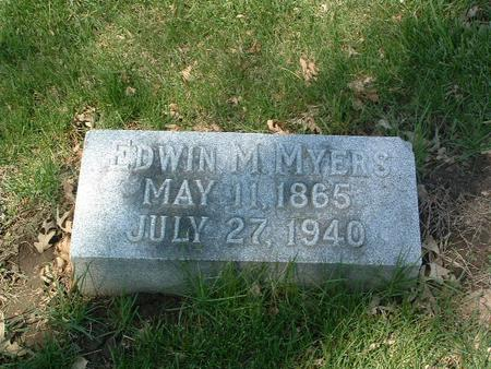MYERS, EDWIN M. - Mills County, Iowa | EDWIN M. MYERS