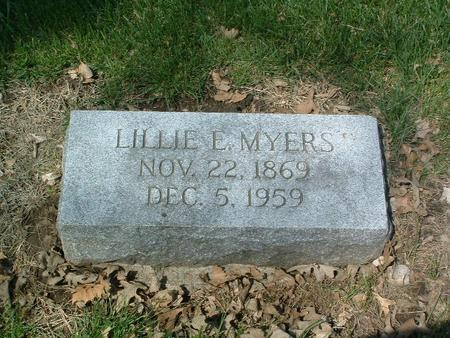 MYERS, LILLIE E. - Mills County, Iowa | LILLIE E. MYERS