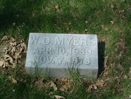 MYERS, W.D. - Mills County, Iowa | W.D. MYERS