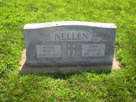 NELLEN, HENRY J. - Mills County, Iowa | HENRY J. NELLEN