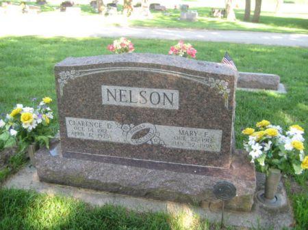 NELSON, MARY E. - Mills County, Iowa   MARY E. NELSON