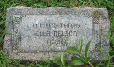 NELSON, ELLA - Mills County, Iowa | ELLA NELSON