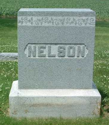 NELSON, HEADSTONE - Mills County, Iowa | HEADSTONE NELSON