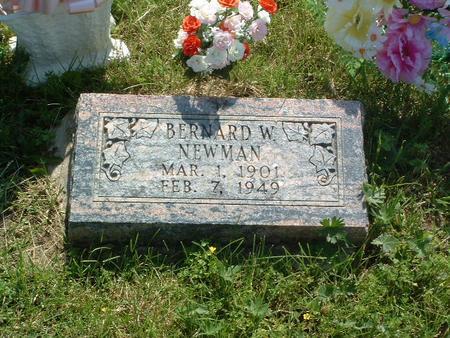 NEWMAN, BERNARD W. - Mills County, Iowa | BERNARD W. NEWMAN