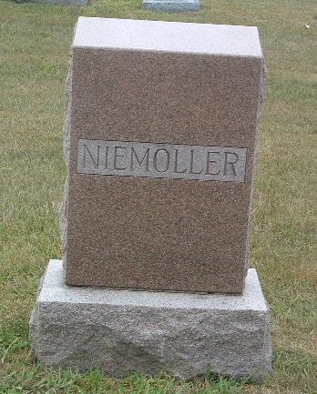 NIEMOLLER, FAMILY HEADSTONE - Mills County, Iowa | FAMILY HEADSTONE NIEMOLLER