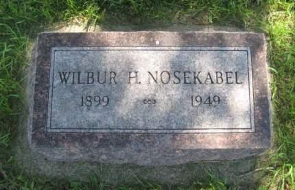 NOSEKABEL, WILBUR H. - Mills County, Iowa | WILBUR H. NOSEKABEL