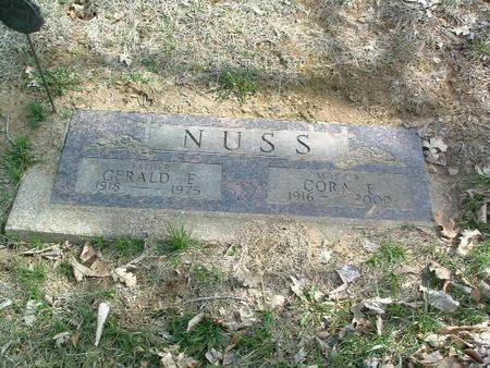NUSS, GERALD E. - Mills County, Iowa | GERALD E. NUSS