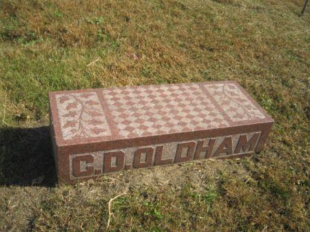 OLDHAM, CLINT D. - Mills County, Iowa   CLINT D. OLDHAM