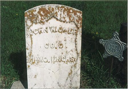 OMER, JOHN W - Mills County, Iowa | JOHN W OMER