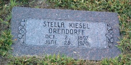 KEISEL ORENDORFF, STELLA - Mills County, Iowa | STELLA KEISEL ORENDORFF