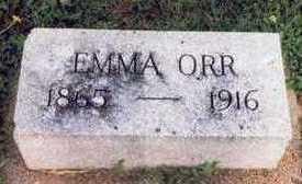 ORR, EMMA - Mills County, Iowa   EMMA ORR
