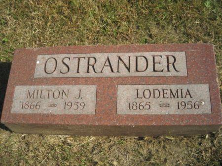 OSTRANDER, MILTON J. - Mills County, Iowa | MILTON J. OSTRANDER