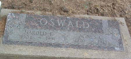 OSWALD, HAROLD F. - Mills County, Iowa | HAROLD F. OSWALD
