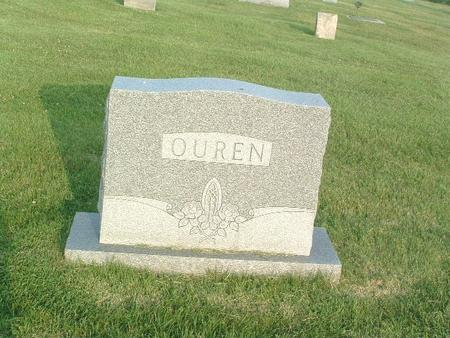 OUREN, FAMILY HEADSTONE - Mills County, Iowa | FAMILY HEADSTONE OUREN