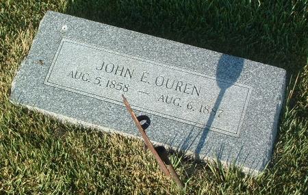 OUREN, JOHN E. - Mills County, Iowa | JOHN E. OUREN