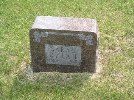 OZIAH, SARAH - Mills County, Iowa | SARAH OZIAH
