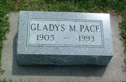 PACE, GLADYS M. - Mills County, Iowa | GLADYS M. PACE