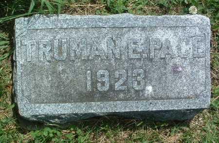 PACE, TRUMAN E. - Mills County, Iowa | TRUMAN E. PACE