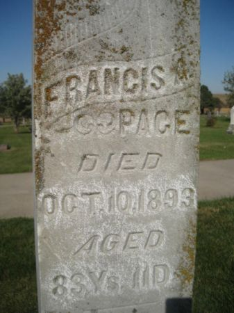 PAGE, FRANCIS - Mills County, Iowa | FRANCIS PAGE