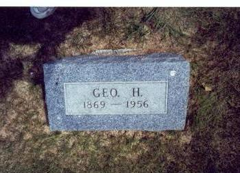 PARKER, GEORGE HOSMER - Mills County, Iowa | GEORGE HOSMER PARKER