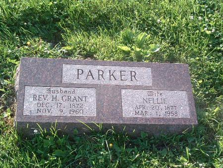 PARKER, H. GRANT (REV.) - Mills County, Iowa | H. GRANT (REV.) PARKER