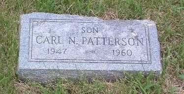 PATTERSON, CARL N. - Mills County, Iowa | CARL N. PATTERSON
