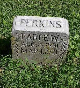 PERKINS, EARLE W. - Mills County, Iowa | EARLE W. PERKINS