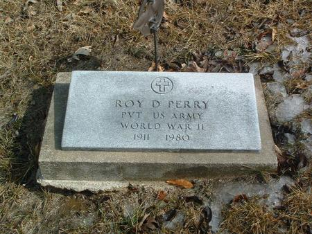 PERRY, ROY D. - Mills County, Iowa | ROY D. PERRY