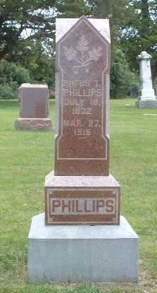 PHILLIPS, RUFUS T. - Mills County, Iowa | RUFUS T. PHILLIPS