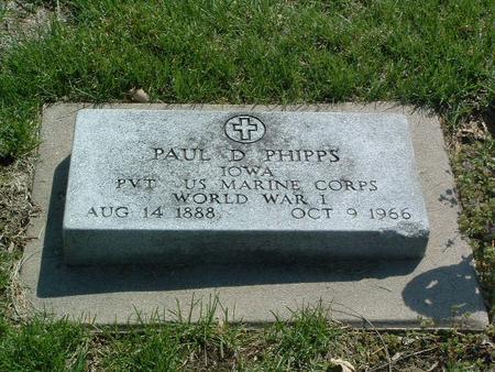 PHIPPS, PAUL D. - Mills County, Iowa | PAUL D. PHIPPS