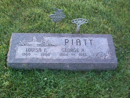PIATT, LOUISA F. - Mills County, Iowa | LOUISA F. PIATT