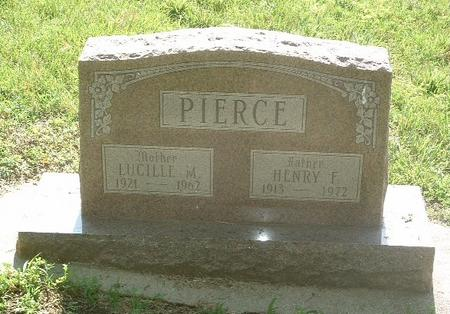 PIERCE, HENRY F. - Mills County, Iowa | HENRY F. PIERCE