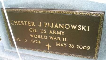 PIJANOWSKI, CHESTER J. - Mills County, Iowa | CHESTER J. PIJANOWSKI