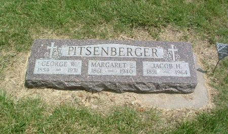 PITSENBERGER, JACOB H. - Mills County, Iowa | JACOB H. PITSENBERGER