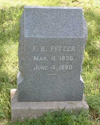 PITZER, FLETCHER B. - Mills County, Iowa | FLETCHER B. PITZER